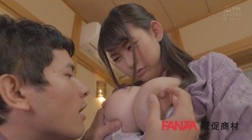 頼まれると断れない肉厚Iカップ神坂朋子の授乳手コキとパイズリ大量挟射 画像 00010