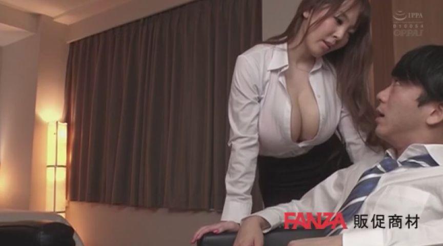 パイズリフェラの傑作!Hitomiの爆乳女上司作品 画像 00000